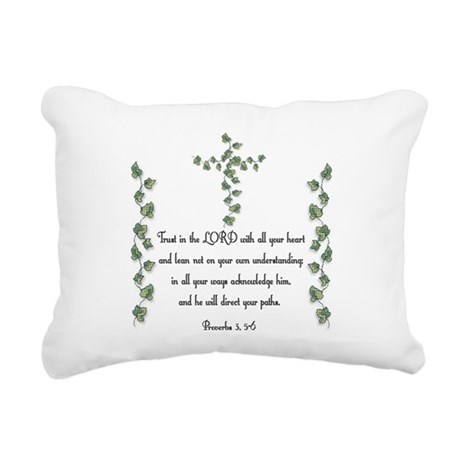 Proverbs Rectangular Canvas Pillow