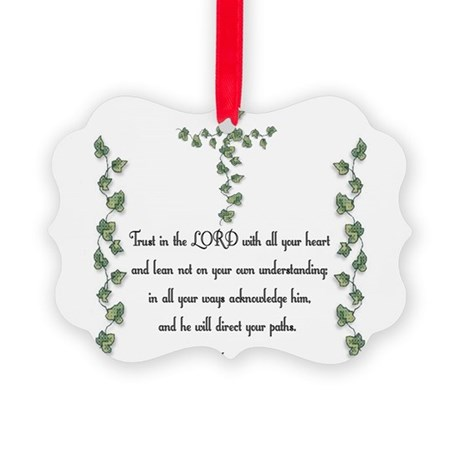 Proverbs Picture Ornament
