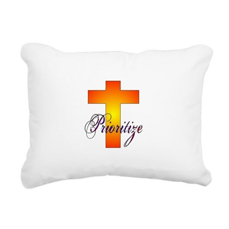 prioritize.JPG Rectangular Canvas Pillow