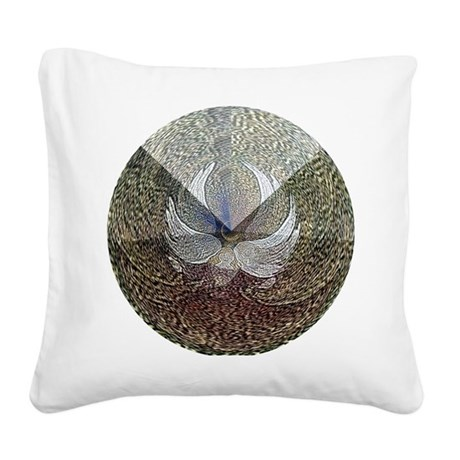 Guardian Angel Square Canvas Pillow