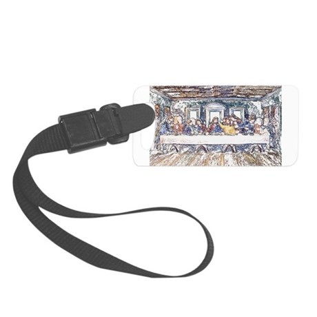 lastsupperpencil2.jpg Small Luggage Tag