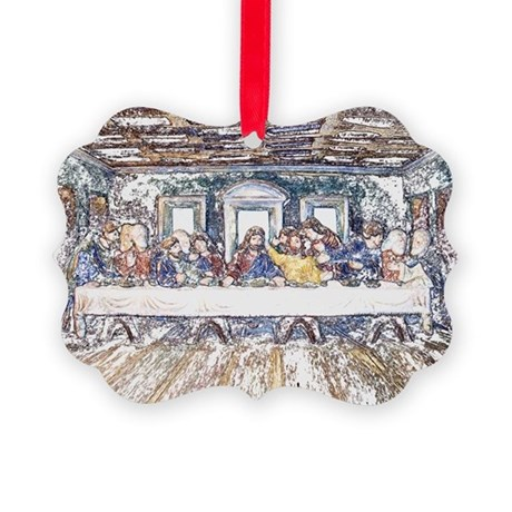 lastsupperpencil2.jpg Picture Ornament