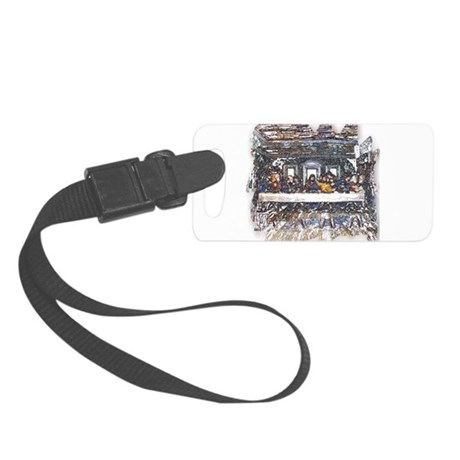 Last Supper Small Luggage Tag