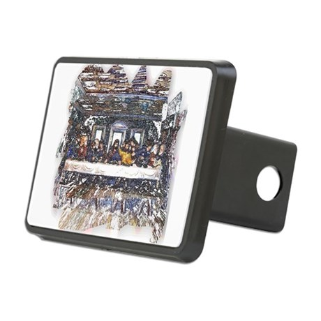 Last Supper Rectangular Hitch Cover