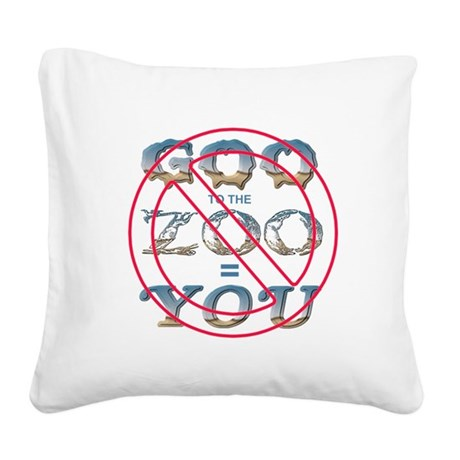 goozoo5.png Square Canvas Pillow