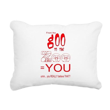 goozoo4.png Rectangular Canvas Pillow
