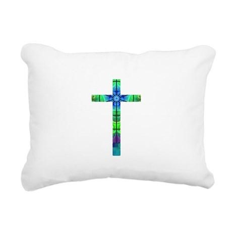 Cross 013 Rectangular Canvas Pillow