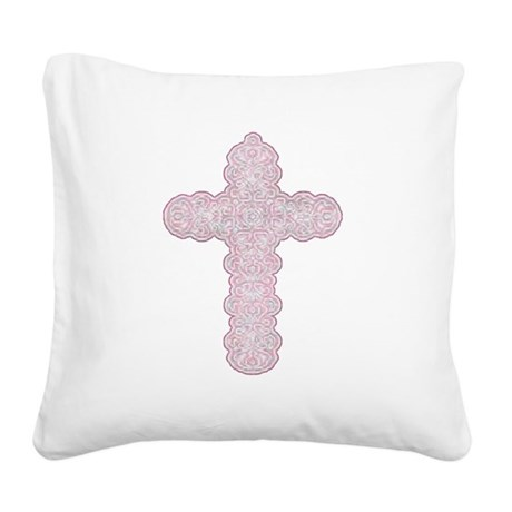 cross28.png Square Canvas Pillow