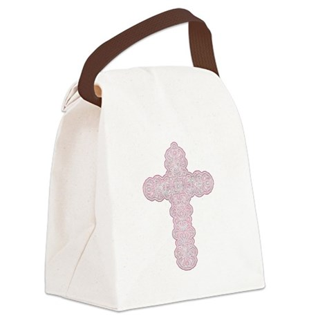 cross28.png Canvas Lunch Bag