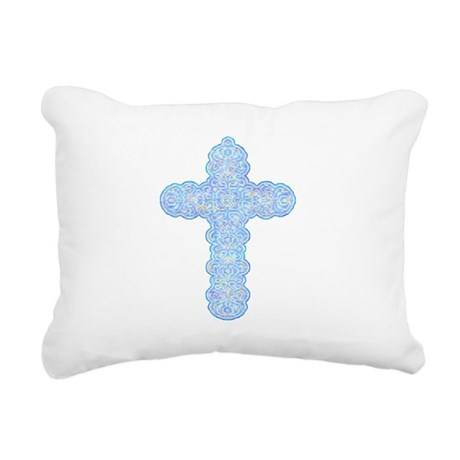 cross28b.png Rectangular Canvas Pillow