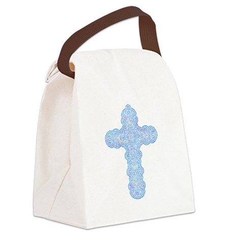 cross28b.png Canvas Lunch Bag