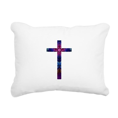 Cross 012 Rectangular Canvas Pillow