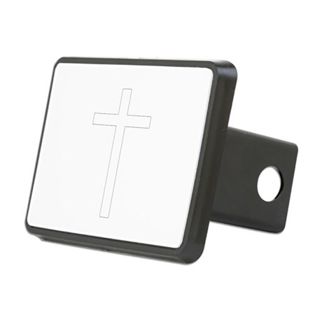 Cross Rectangular Hitch Cover