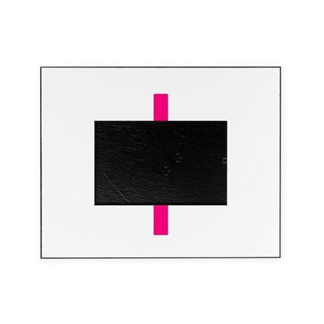 Pink Cross Picture Frame