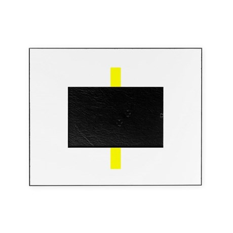 Yellow Cross Picture Frame