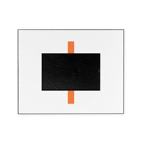 Orange Cross Picture Frame