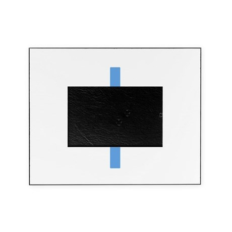Light Blue Cross Picture Frame