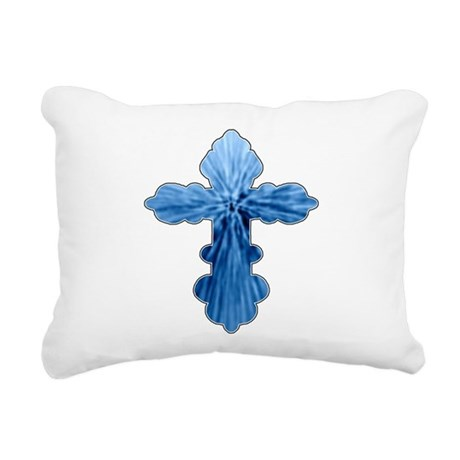 cross33.png Rectangular Canvas Pillow