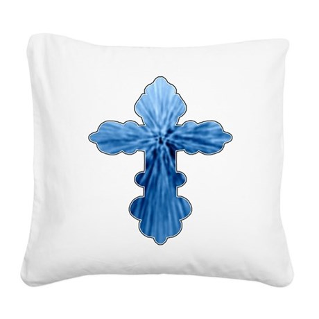 cross33.png Square Canvas Pillow