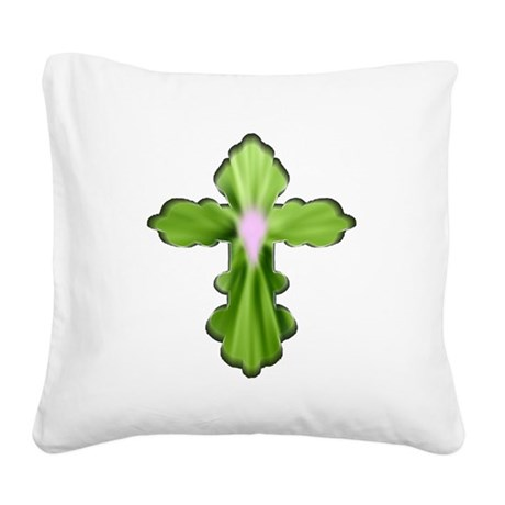 cross33b5.png Square Canvas Pillow