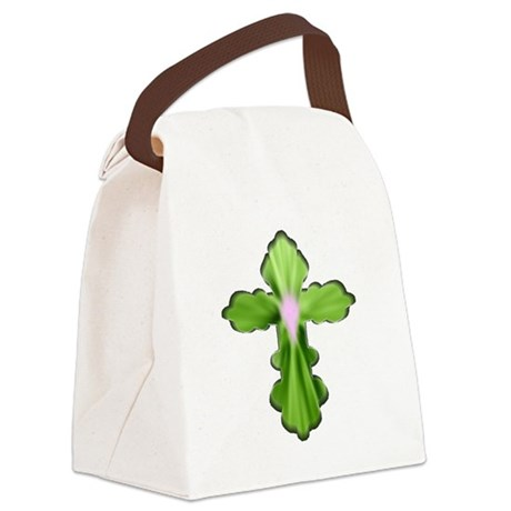 cross33b5.png Canvas Lunch Bag