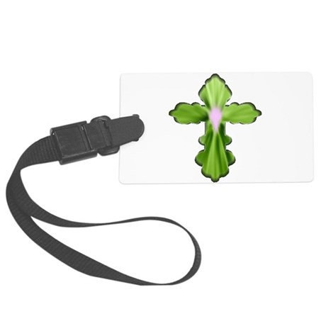 cross33b5.png Large Luggage Tag