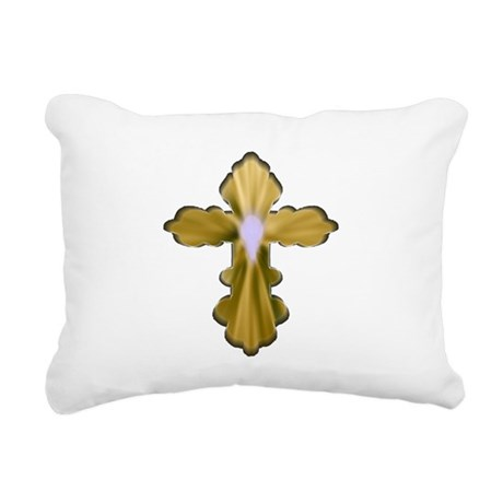 cross33b4.png Rectangular Canvas Pillow