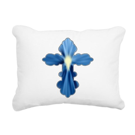 cross33a.png Rectangular Canvas Pillow