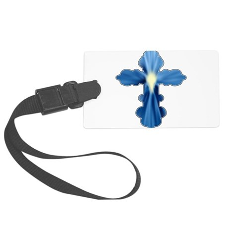 cross33a.png Large Luggage Tag