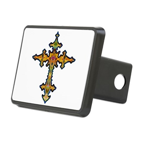 cross25d.png Rectangular Hitch Cover