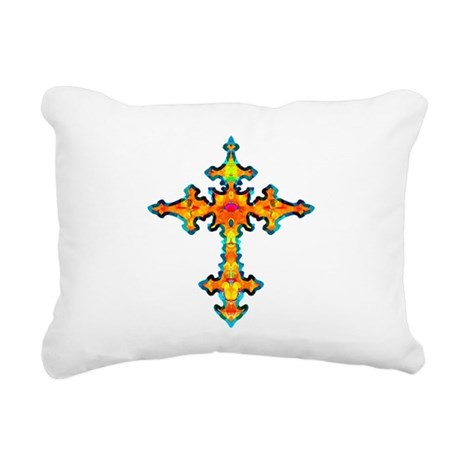 cross25c.png Rectangular Canvas Pillow