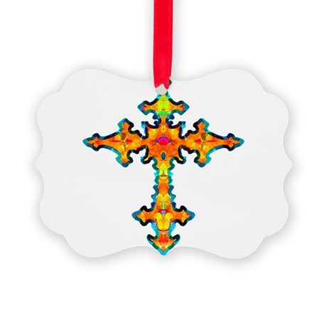 cross25c.png Picture Ornament
