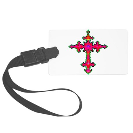cross25b.png Large Luggage Tag