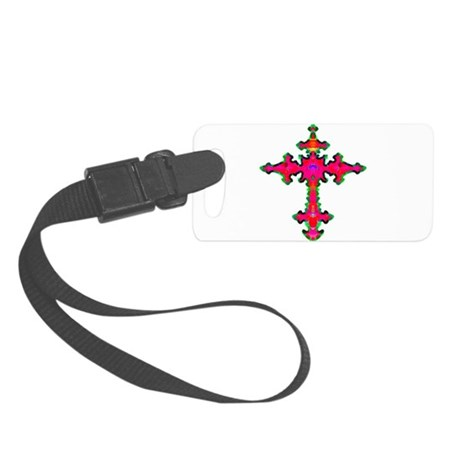 cross25b.png Small Luggage Tag