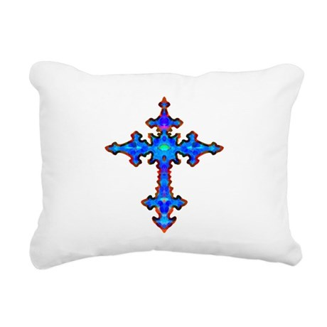 cross25a.png Rectangular Canvas Pillow
