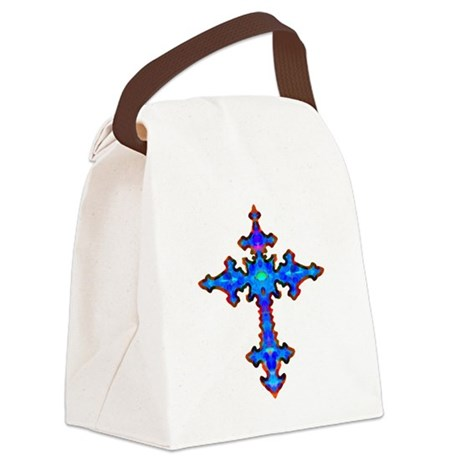 cross25a.png Canvas Lunch Bag