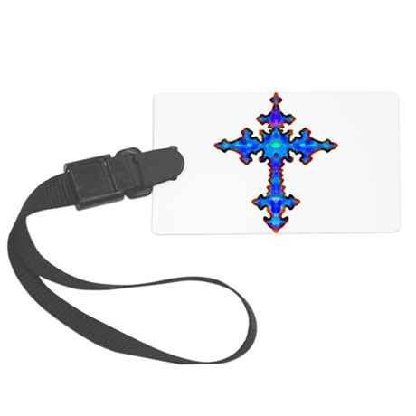 cross25a.png Large Luggage Tag