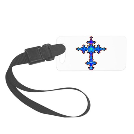 cross25a.png Small Luggage Tag