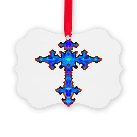 cross25a.png Picture Ornament