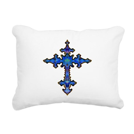 cross25.png Rectangular Canvas Pillow