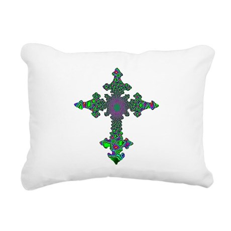 cross24b3.png Rectangular Canvas Pillow