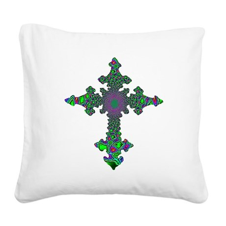 cross24b3.png Square Canvas Pillow