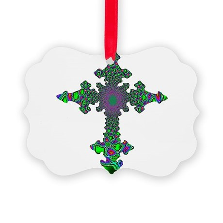 cross24b3.png Picture Ornament