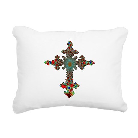 cross24c.png Rectangular Canvas Pillow