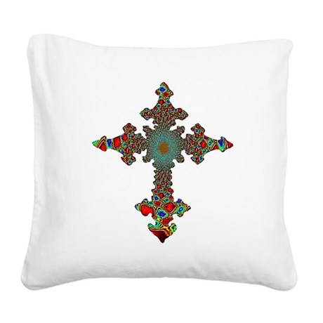 cross24c.png Square Canvas Pillow