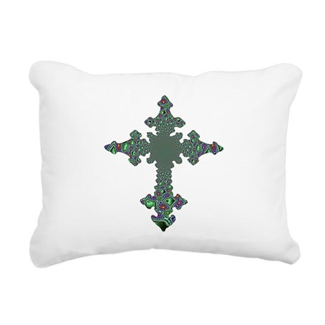 cross24b.png Rectangular Canvas Pillow
