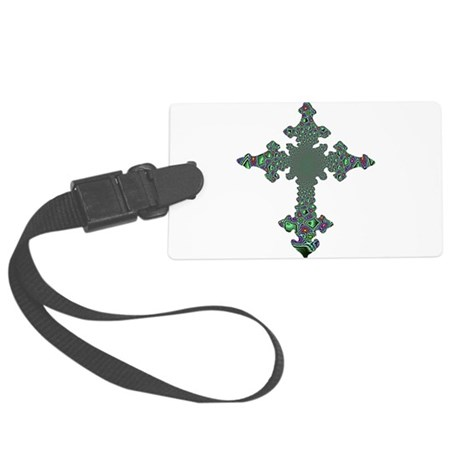 cross24b.png Large Luggage Tag