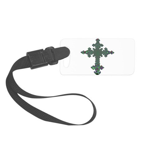 cross24b.png Small Luggage Tag