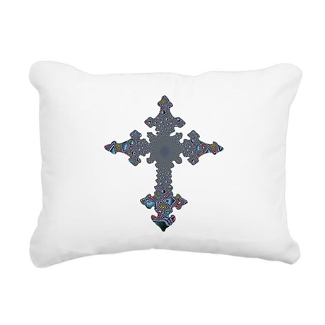 cross24a.png Rectangular Canvas Pillow