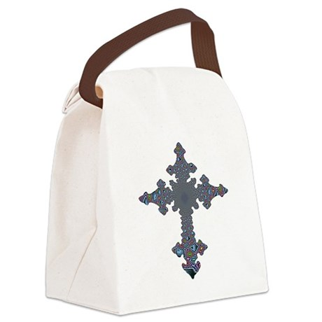 cross24a.png Canvas Lunch Bag